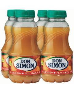 Néctar de melocotón don simón botella pack de 4 unidades de 20cl