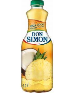 Néctar de piña y coco don simón botella 1,5l