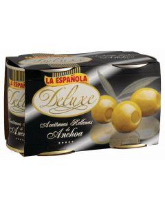 Aceituna deluxe rellena de anchoa española