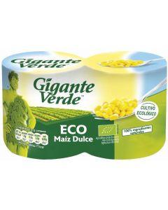 Maíz bio gigante verde pack de 2 unidades de 280g