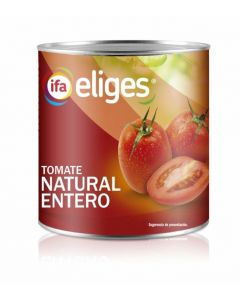 tomate entero natural ifa eliges lata 480g