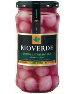 Cebollitas rojas rioverde tarro 180g