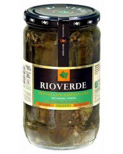 Pepinillos dulces rioverde tarro 380g