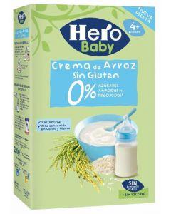Papilla crema de arroz hero 300gr
