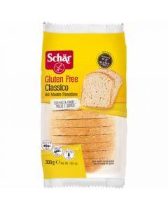 Pan de molde clásico sin gluten schar 300g