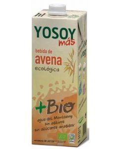 Bebida biológica de avena yosoy brik 1l