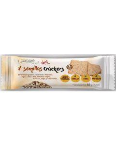 Galletas crackers 8 semillas corporte diet 62g