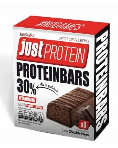 Barrita proteinas chocolate loading pack de 3 unidades de35g