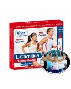 Carnitina liquida viveplus 12u