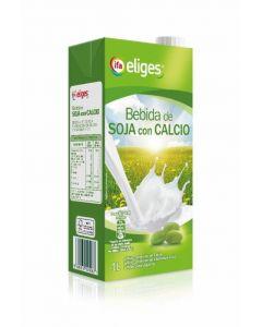 Bebida de soja con calcio ifa eliges brik 1l