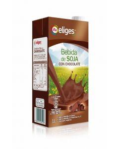 Bebida de soja con chocolate ifa eliges brik 1l