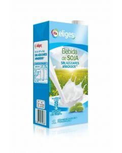 Bebida de soja sin azúcar ifa eliges brik 1l
