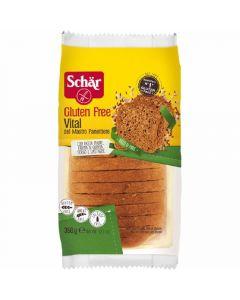 Pan de molde sin gluten vital schar 350g
