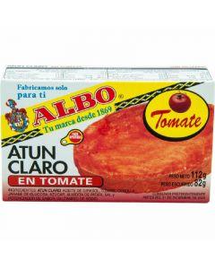 atún claro con tomate albo 82g