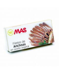 Anchoa en aceite girasol mas 29g