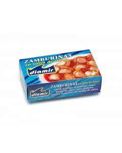 Zamburiñas en salsa vieira diamir 65g