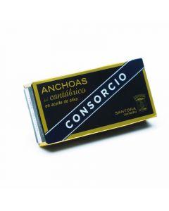 Anchoa cantabra en aceite de oliva consorcio 29g