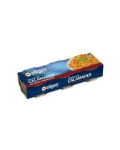 Calamar en salsa americana ifa eliges pack de 3 unidades de 52g