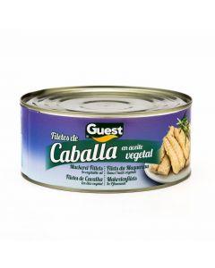 Filetes de caballa en aceite de girasol guest 85g