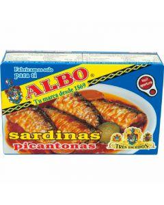 Sardinas en salsa picantona albo 85g