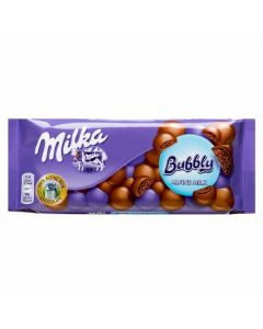 chocolate bubbly milka 90g