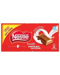 Chocolate con leche  nestle  125g
