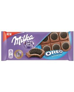 chocolate con leche milka oreo 92g