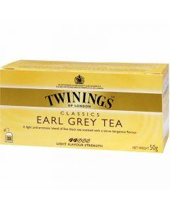 te earlgrey twinings 25 sobres