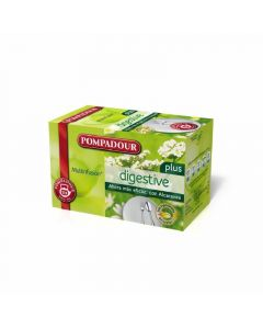 Infusion digestive pompadour 20 sobres