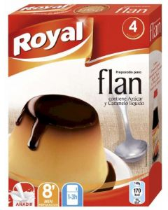 Preparado de flan sobres royal 8 unidades