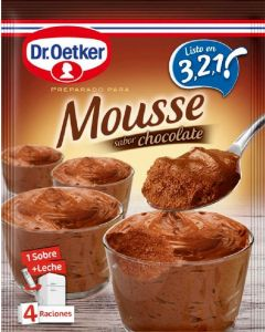 Mousse de chocolate dr. oetker 65g