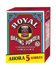 Levadura en polvo royal sobres 80g