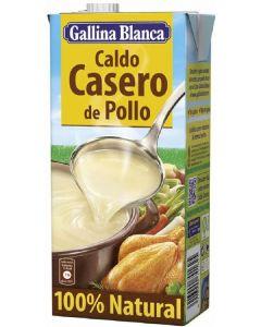 Caldo casero de pollo 100% gallina blanca 1l