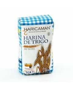 Harina de trigo haricamar paquete 2kg
