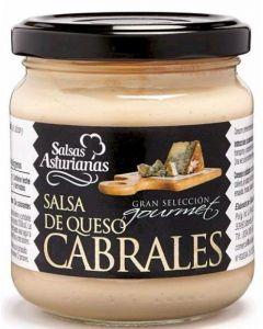 Salsa al cabrales la asturiana tarro 190g