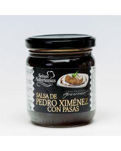 Salsa al pedro ximenez pasa asturiana tarro 190g