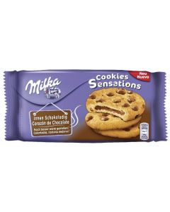 Galleta cookie sensation milka sensation 156g