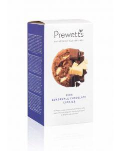 Galleta cookie 4 chocolates  prewetts 150gr