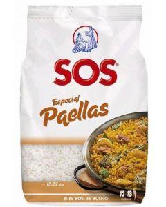 Arroz especial paellas sos 1kg