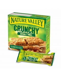 Barrita avena y miel nature valley 112g