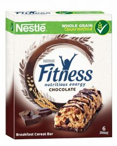 Cereales barritas fitness chocolate nestle 141gr