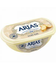 Mantequilla con sal arias barqueta 235g