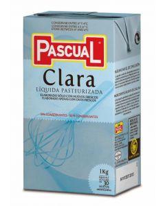 clara líquida de huevo refrigerada pascual 1l