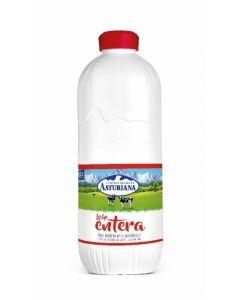 Leche entera asturiana botella 2,2l