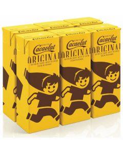 Batido chocolate cacaolat mini brick p6x200ml