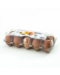 Huevos frescos clase xl san rafael 10ud