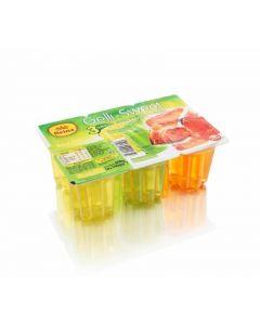 Gelatina multifruta reina pack de 6 unidades de 100g