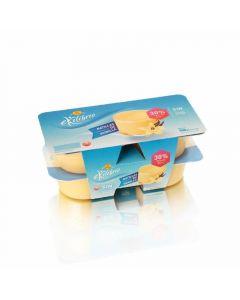 Natillas de vainilla sin azúcar reina pack de 2 unidades de 125g
