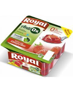 Gelatina antiox de arandanos royal pack de 4 unidades de 100g