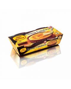 Crema catalana reina pack de 2 unidades de 100g